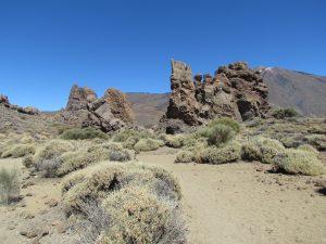 Los Roques u podnóża Teide na Teneryfie