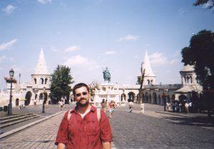 Baszty rybackie obok kościoła Macieja w Budapeszcie na Węgrzech