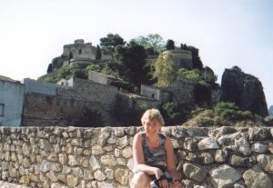 Zamek arabski w Guadalest