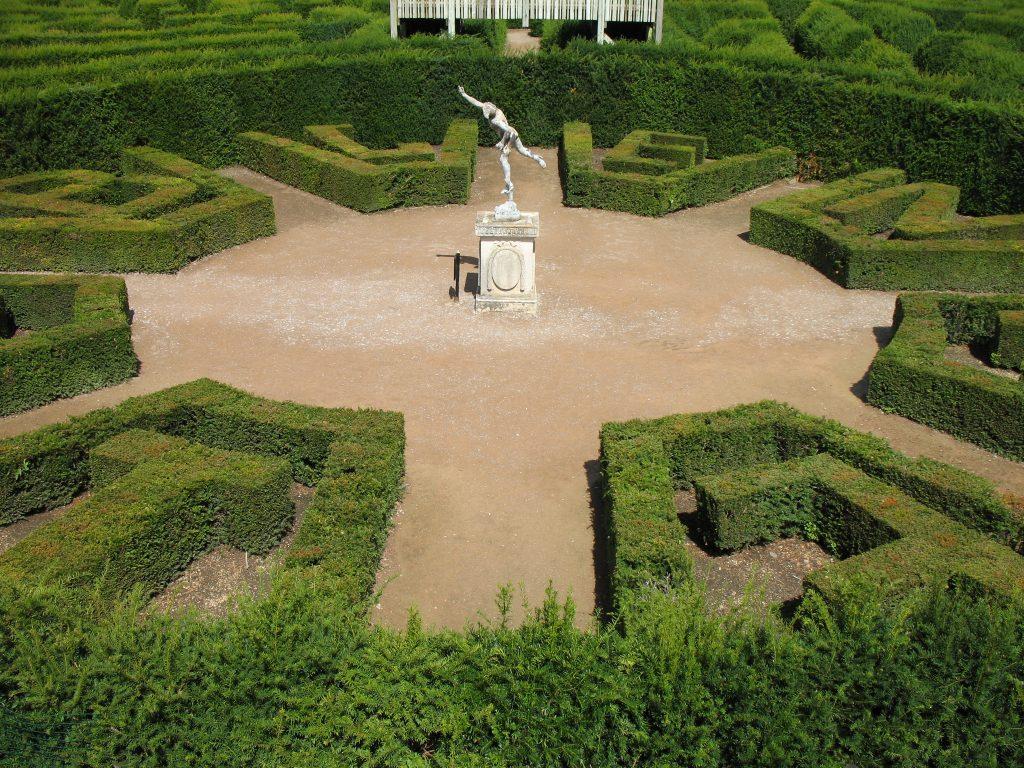 Labirynt z żywopłotu w Blenheim Palace