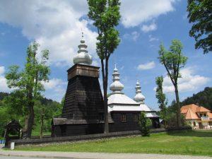 Cerkiew w miejscowości Łosie