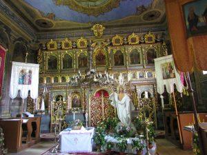 Ikonostas cerkwi w Hańczowej