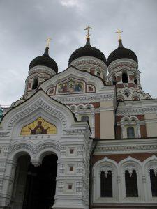 Cerkiew Aleksandra Newskiego w Tallinie w Estonii
