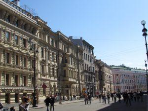 Ulice Petersburga