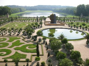 Wersal - ogród zwany oranżerią