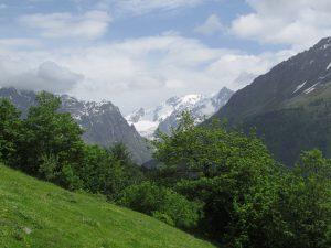 Kaukaz powyżej Mestii