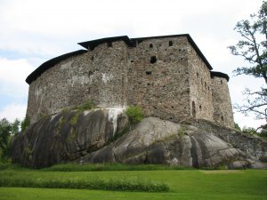 Zamek Raseborg w Finlandii