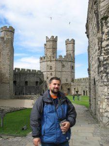 Zamek w Caernarfon