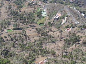 Widok z Mirador el Santo na Gomerze
