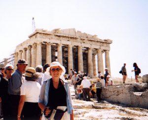 Partenon na Akropolu w Atenach w Grecji