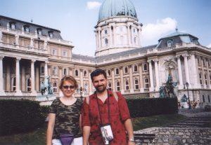 Zamek w Budapeszcie na Węgrzech