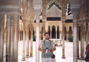 Patio Lwów w Palacios Nazaries w Alhambrze