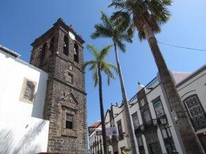 Plaza de España w Santa Cruz de La Palma na La Palmie