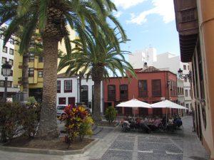 Plaza de La Almeda w Santa Cruz de la Palma na La Palmie
