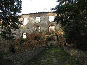 Zamek w Pankowie
