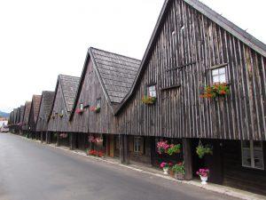 Domy tkaczy, tzw. Dwunastu Apostołów w Chełmsku Śląskim