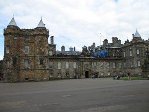 Palace of Holyroothouse w Edynburgu