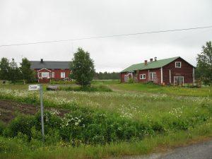 Lapońska wioska - Torassieppi w Finlandii