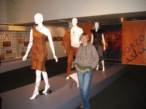 Moda lapońska w muzeum w Inari w Finlandii