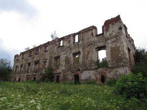 Ruiny zamku renesansowego w Kamiennej Górze