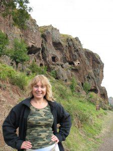 Mieszkania troglodytów - Grottes de Jonas