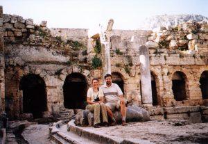 Fontanna Pejrene w Koryncie w Grecji