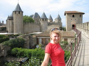 Zamek w Carcassonne
