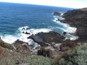 Naturalne baseny w Pozo de las Calcosas na El Hierro