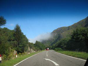Droga przez Szkocję