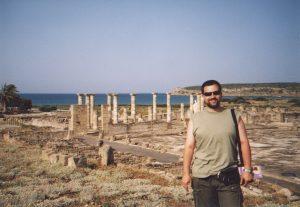 Forum na rzymskich wykopaliskach w Baelo Claudia