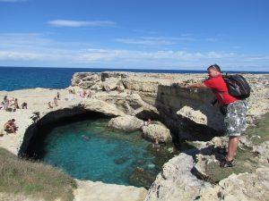 La Grotta della Poesia w Roca Vecchia
