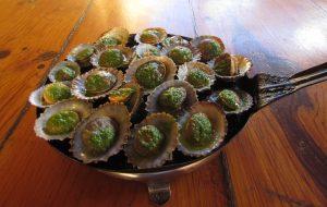 Małże z patelni - Lapas a'la plancha w Pozo de las Calcosas na El Hierro