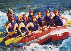 Rafting w Kanionie Koprulu