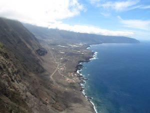 Widok z Mirador del la Peña na El Hierro