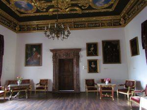 Sala balowa na zamku w Nowym Wiśniczu