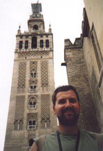 Giralda, czyli dzwonnica katedry w Sevilli