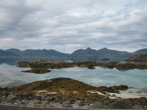Gdzieś na Lofotach w Norwegii