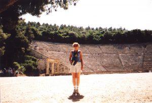 Teatr w Epidauros w Grecji
