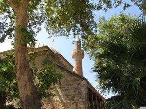 Meczet na terenie Mamure Kalesi