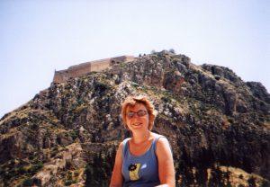 Forteca Palamidi w Nafplionie w Grecji