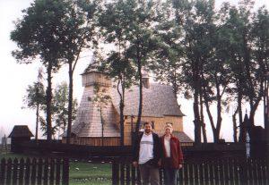 Kościół drewniany z XV w. w Dębnie