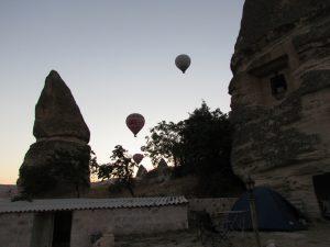 Dilek Camping w Göreme w Kapadocji