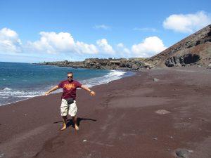 Czerwona Playa Verodal na El Hierro