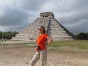 Piramida El Castillo w Chichén Itzá