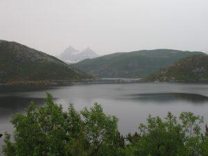 Widoki z drogi RV17 na północy Norwegii