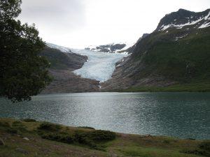 Drugi co do wielkości lodowiec Norwegii - Svartisen