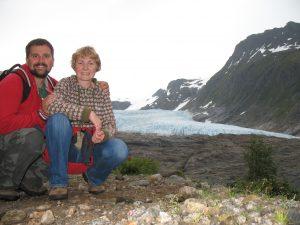 Lodowiec Svartisen w Norwegii