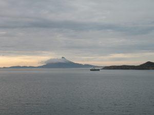 Podczas rejsu przez fiord z Jektvik do Kilboghamn