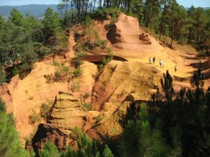 Ścieżka ochry w Roussillon