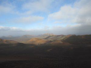 Ruta de los Volcanes w Parku Narodowym Timanfaya na Lanzarote